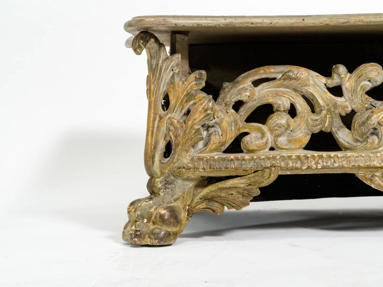 Italian Baroque Bench For Sale 3