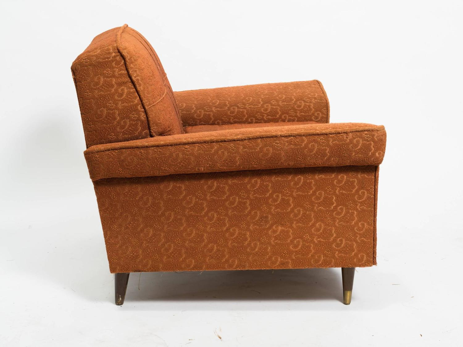 Pair of 1950s Kroehler Oversized Lounge Chairs at 1stdibs