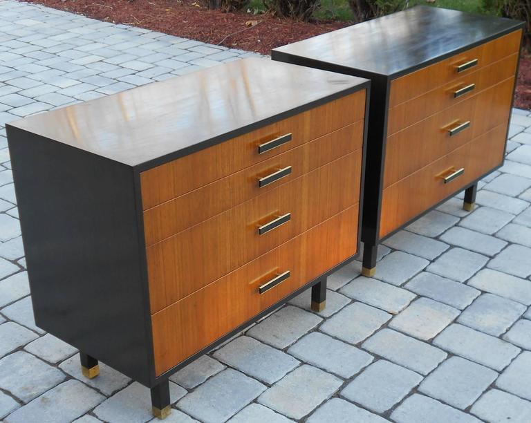 Mid-Century Modern Pair of Harvey Probber Dressers/Chest