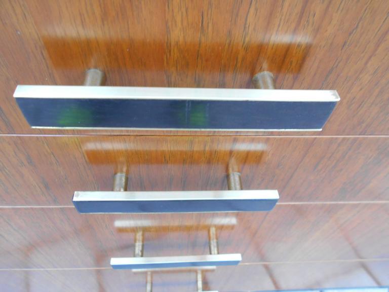 Brass Pair of Harvey Probber Dressers/Chest