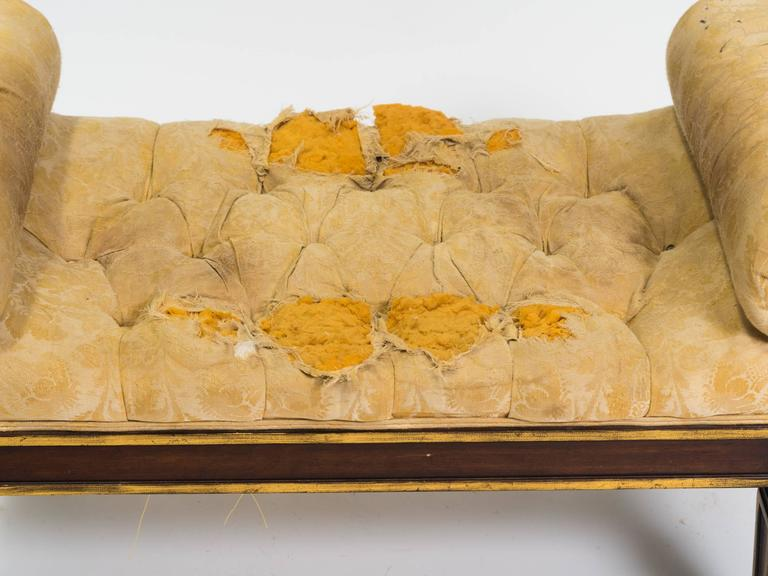 1920s Upholstered Bench For Sale At 1stdibs