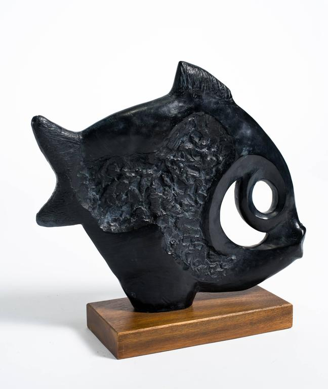 1970s ceramic fish sculpture for sale at 1stdibs