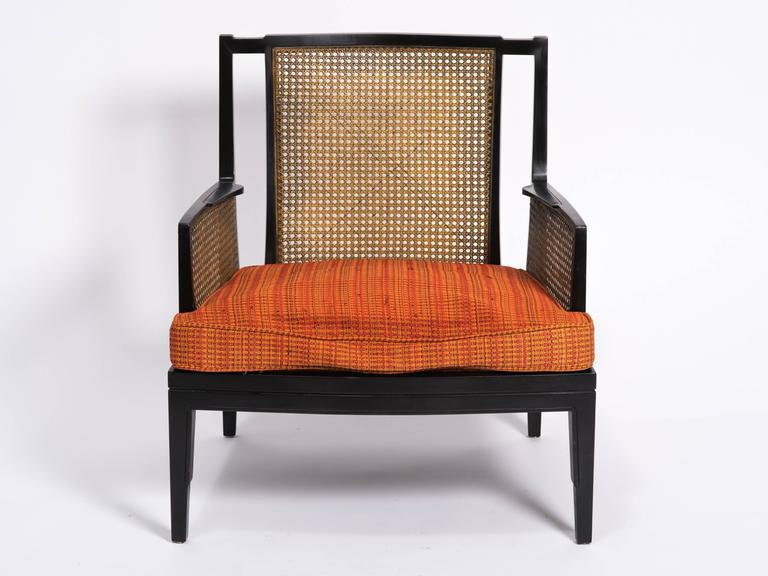 Pair of art deco caned lounge chairs at 1stdibs - Lounge deco ...