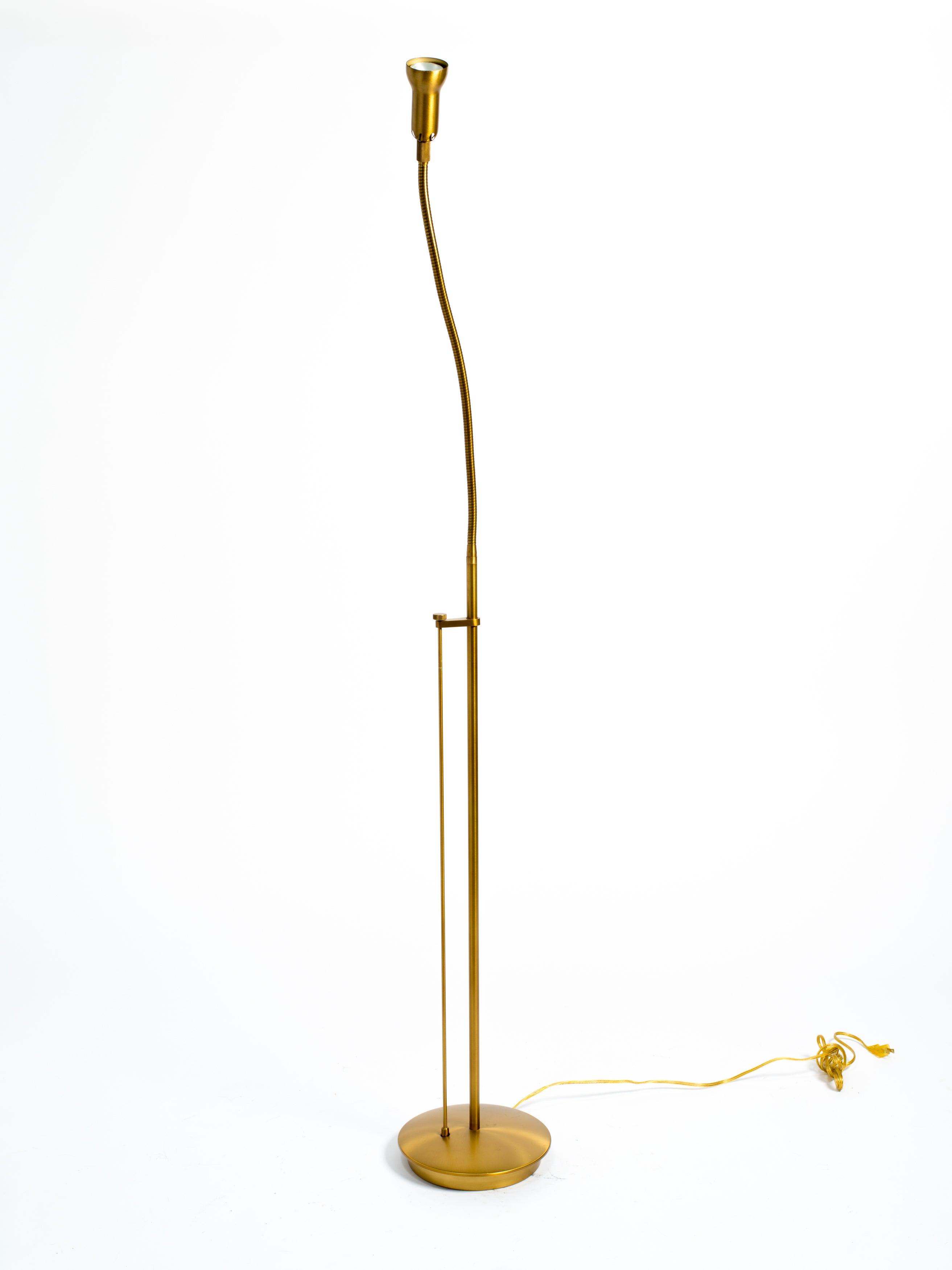 Brass Gooseneck Floor Lamp For Sale At 1stdibs