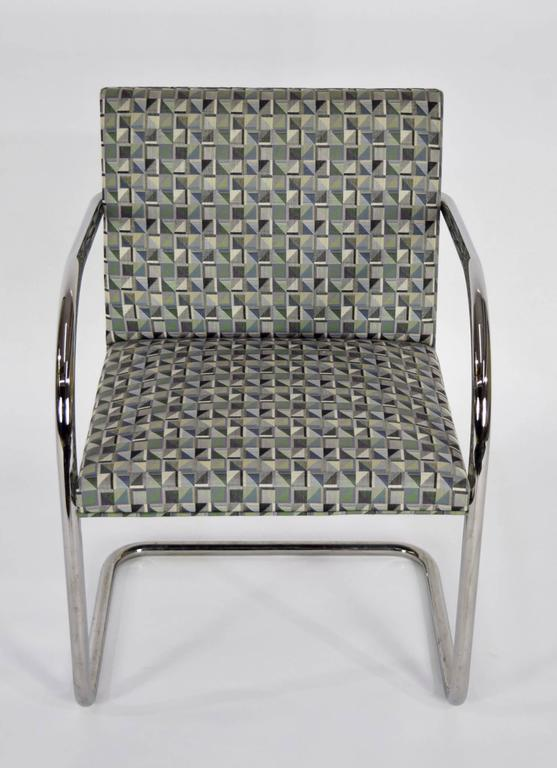 Set of Ten Tubular Brno Chairs by Knoll In Excellent Condition For Sale In Dallas, TX