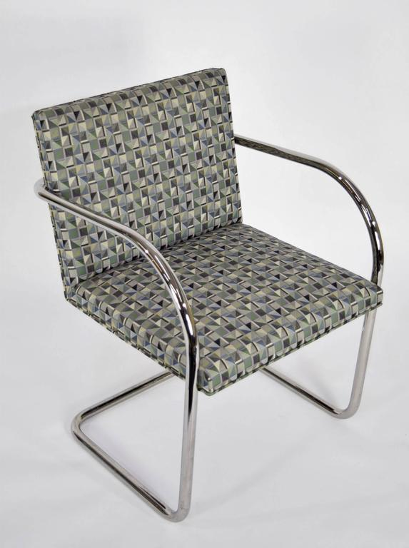 20th Century Set of Ten Tubular Brno Chairs by Knoll For Sale