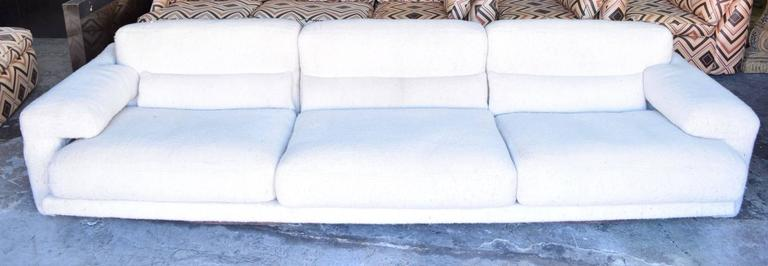 Super comfortable and rare saporiti sofa for sale at 1stdibs for Super comfortable sectional sofa