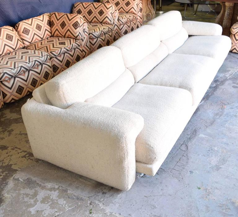 Super comfortable and rare saporiti sofa for sale at 1stdibs for Comfortable couches for sale
