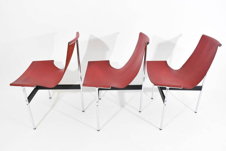 Set of Six T-Chairs by Katavolos, Little and Kelly In Good Condition For Sale In Dallas, TX