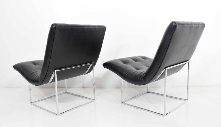 Pair of Milo Baughman for Thayer Coggin Lounge Chairs In Good Condition For Sale In Dallas, TX