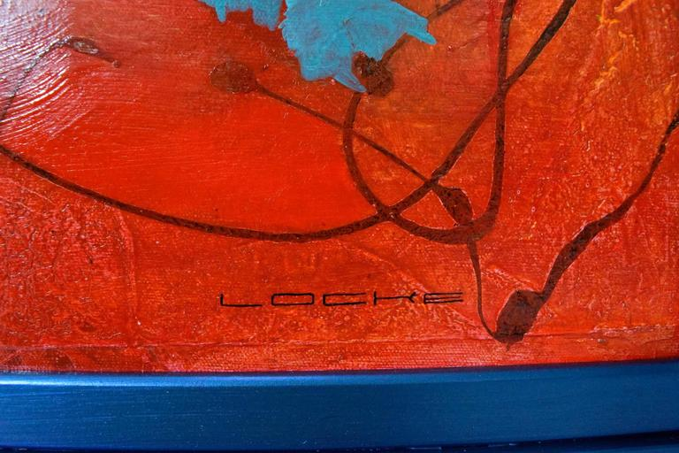 Contemporary Large Original Abstract by Larry Locke For Sale