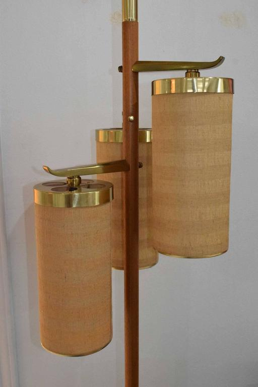 Stiffel Tension Pole Floor Lamp At 1stdibs