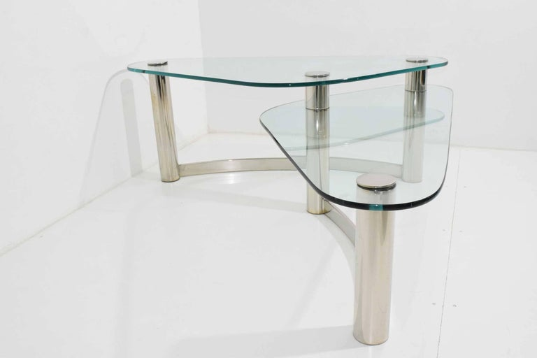 Mid-Century Modern Pace Collection Two-Tier Coffee Table For Sale