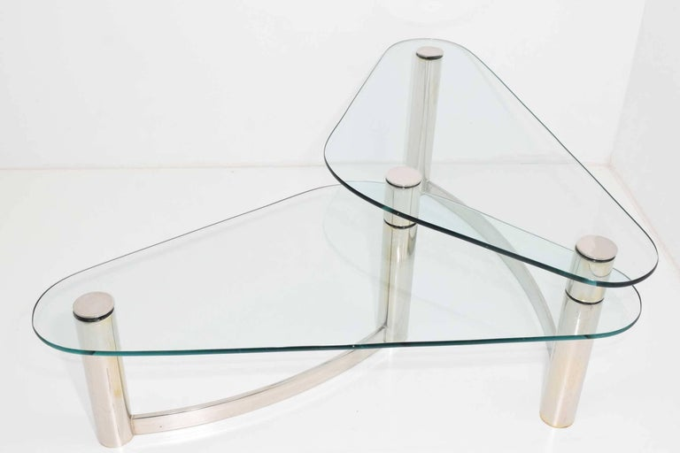 American Pace Collection Two-Tier Coffee Table For Sale