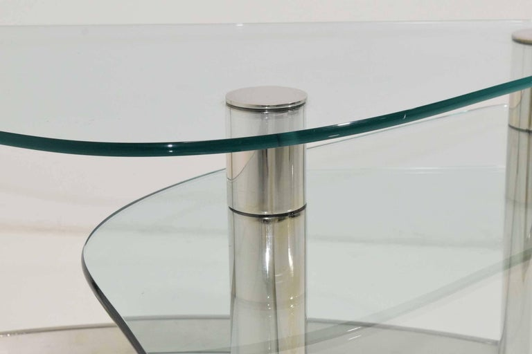 Pace Collection Two-Tier Coffee Table In Good Condition For Sale In Dallas, TX