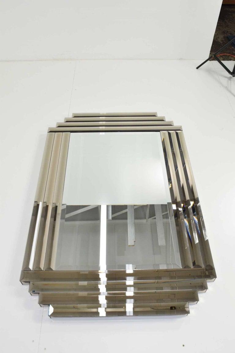 large beveled glass mirror for sale at 1stdibs. Black Bedroom Furniture Sets. Home Design Ideas