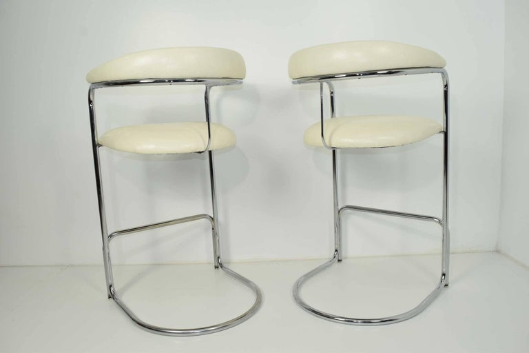 Bar Stools By Anton Lorenz For Thonet For Sale At 1stdibs