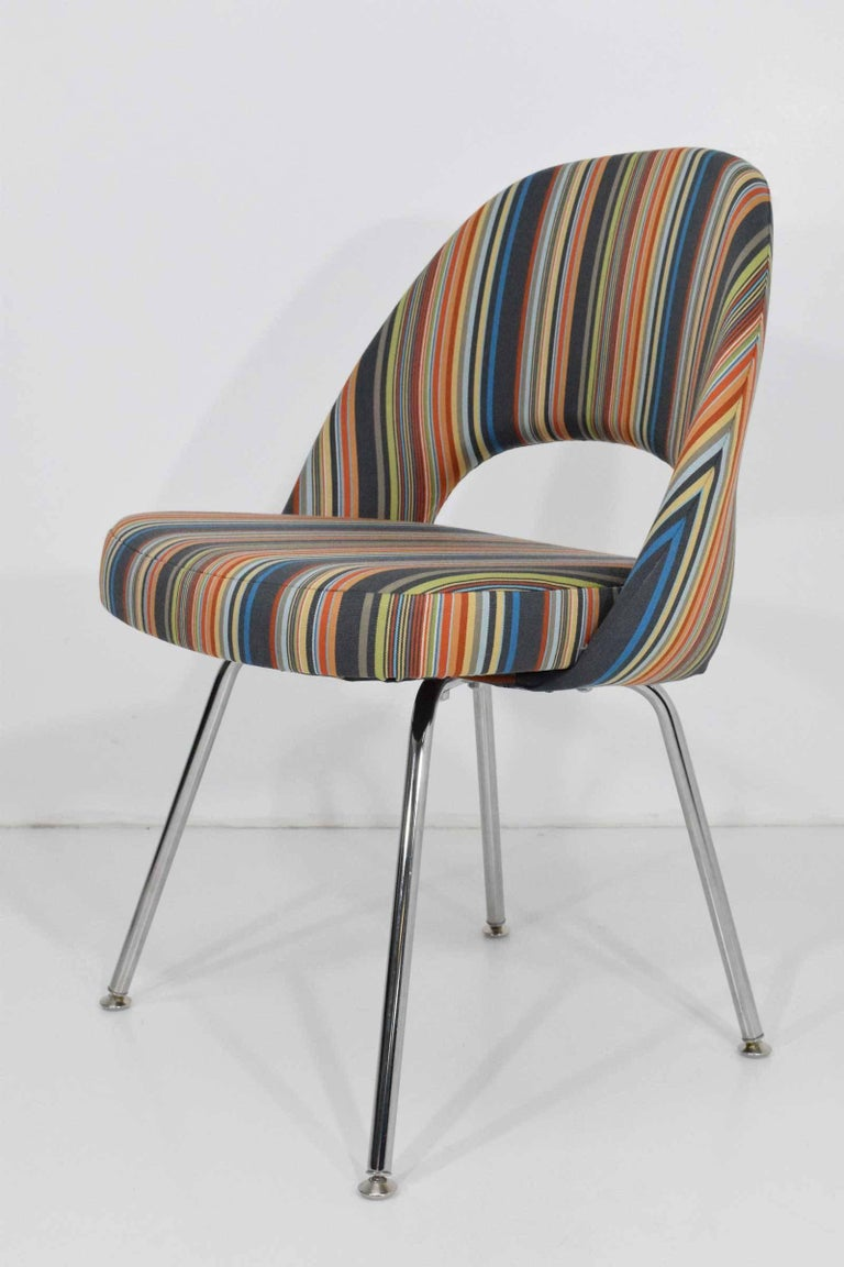 Eero Saarinen for Knoll Executive Chairs In Excellent Condition For Sale In Dallas, TX