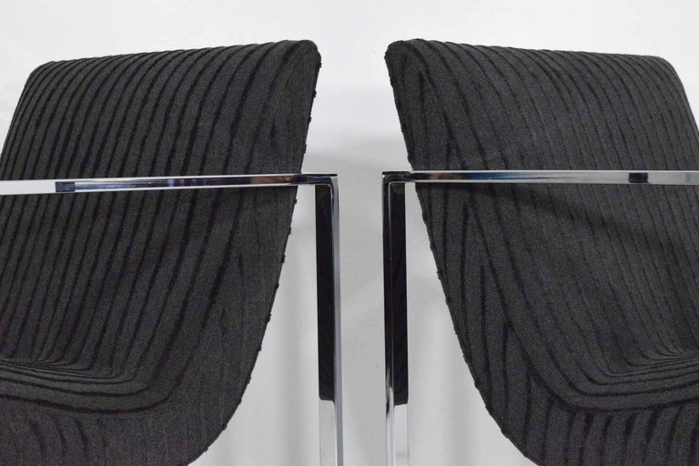 Mid-Century Modern Milo Baughman Scoop Lounge Chairs For Sale