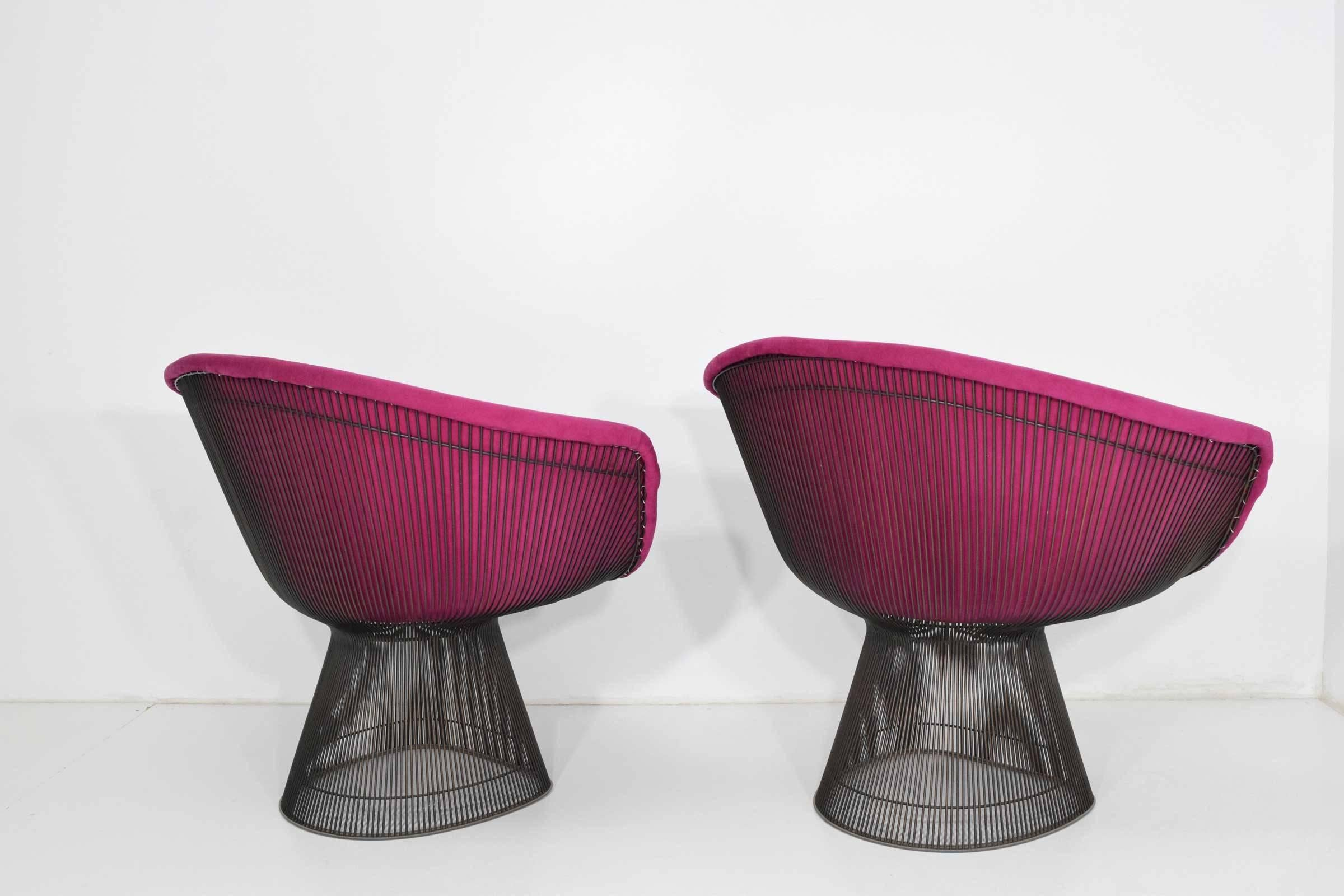 Warren Platner Lounge Chairs, Stools And Coffee Table For Sale