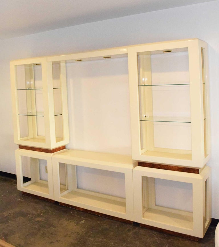 Mid-Century Modern Harvey Probber Wall Unit For Sale