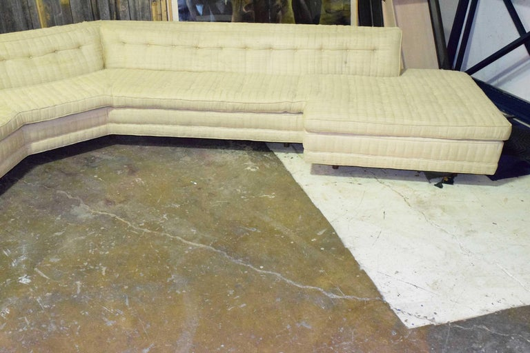 Mid-Century Modern Large Sectional by Harvey Probber For Sale