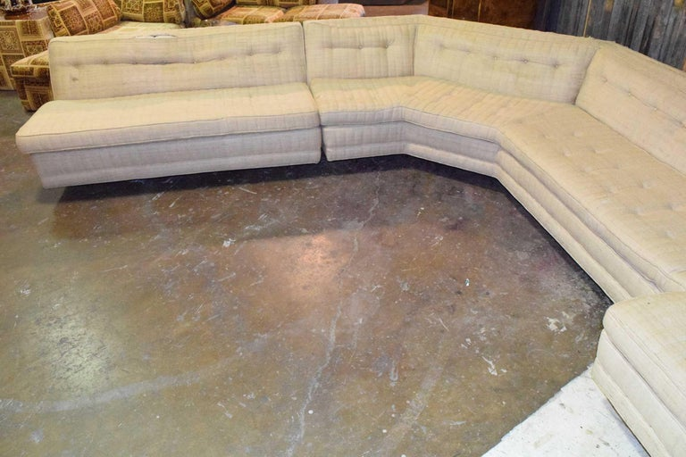American Large Sectional by Harvey Probber For Sale