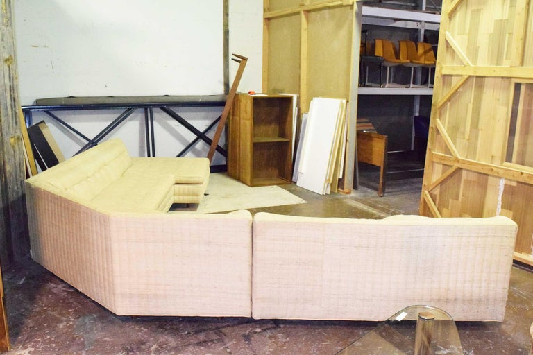 Large Sectional by Harvey Probber In Fair Condition For Sale In Dallas, TX