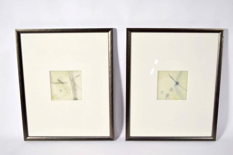 Two original artworks by Chaco Terada.