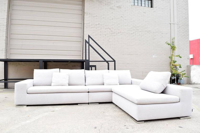 Minotti Quot Moore Quot Three Piece Sectional Sofa By Rodolfo