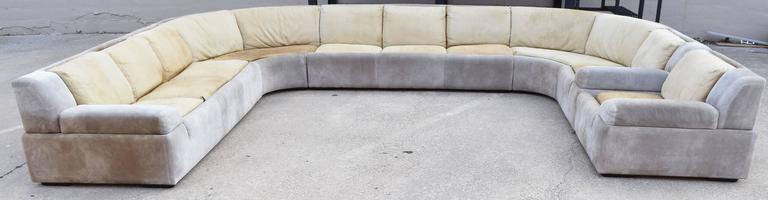 Large Saporiti Sectional For Sale At 1stdibs
