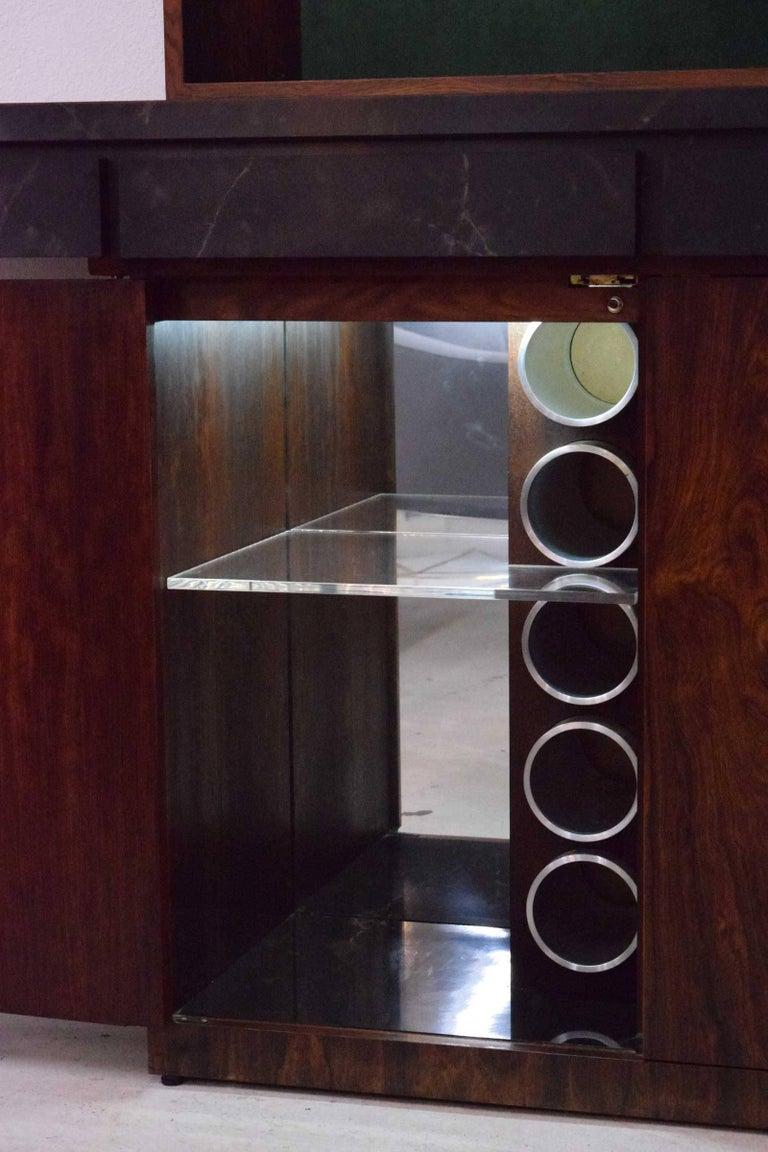 Mid-Century Modern Vladimir Kagan Bar Cabinet For Sale