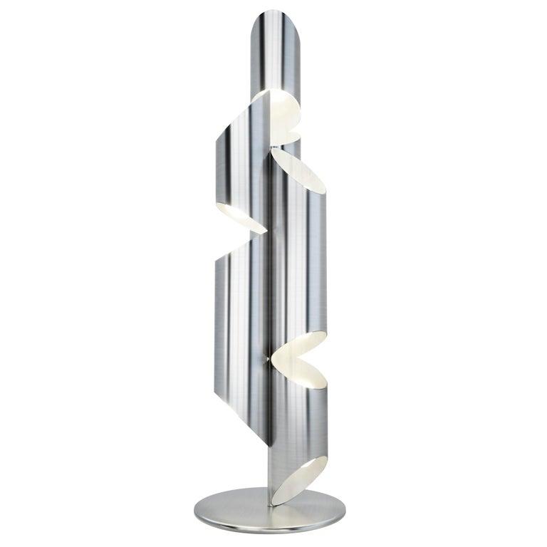 Whistle Floor Lamp in Steel
