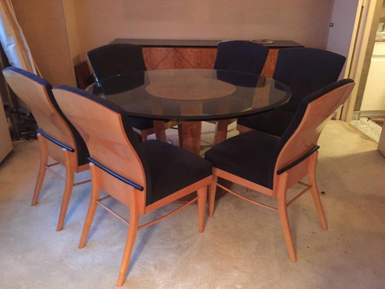 American Roche Bobois Dining Table 1970s For