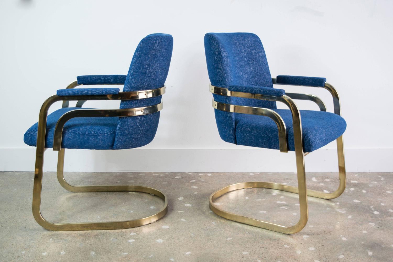 Chromcraft Kitchen Chairs Set Of Four Chromcraft Sculptural Brass Dining  Chairs At 1stdibs