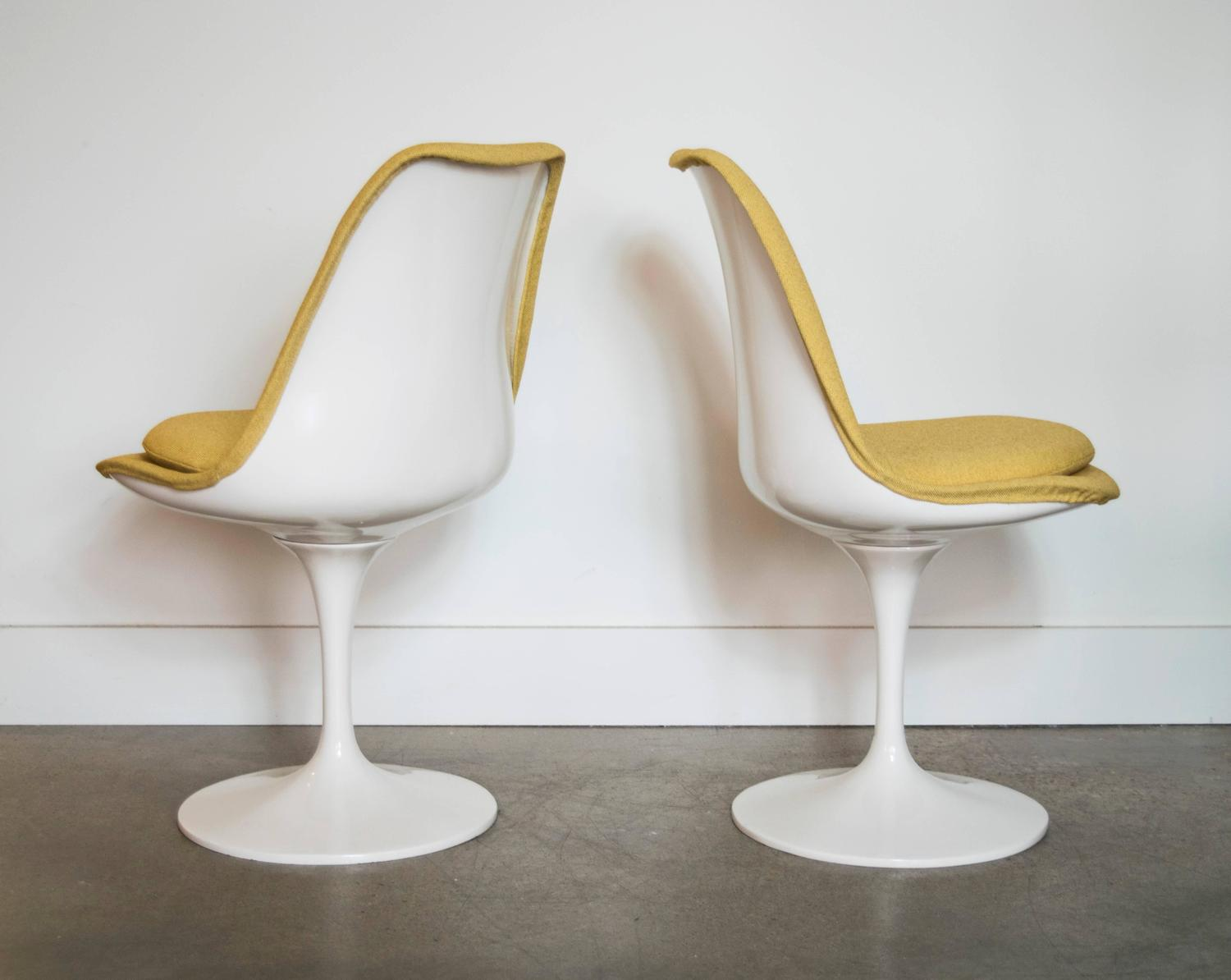 Ten early knoll fully upholstered saarinen tulip chairs for sale at 1stdibs - Tulip chairs for sale ...