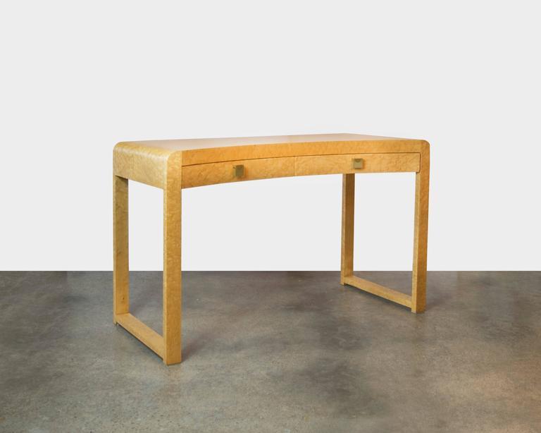 Beautiful Birds Eye Maple Desk Vanity Or Sofa Table With