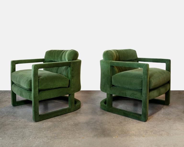 Delightful A Pair Of Knockout Sculptural Chairs For Drexel Either In The Style Of Or  Designed By