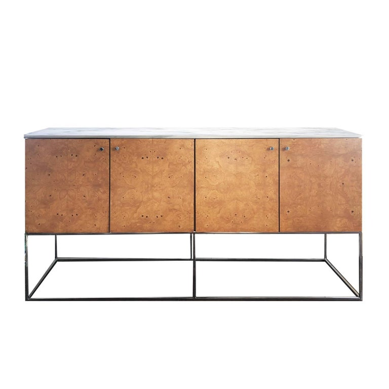Floating Sideboard Cabinet by Milo Baughman for Thayer Coggin