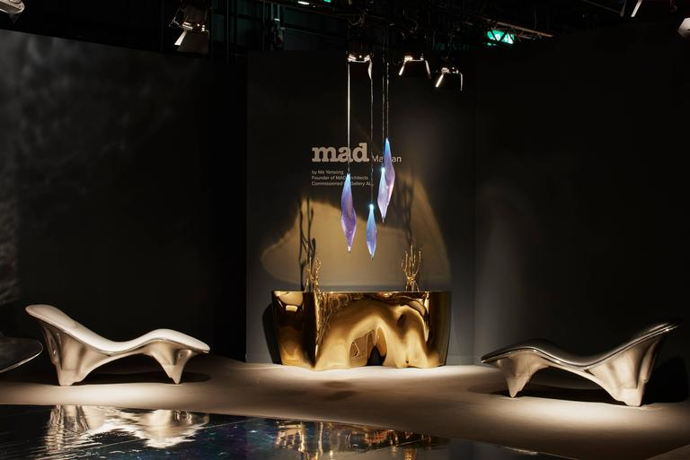 Mad Martian Chaise Lounge By Ma Yansong Mad Architects