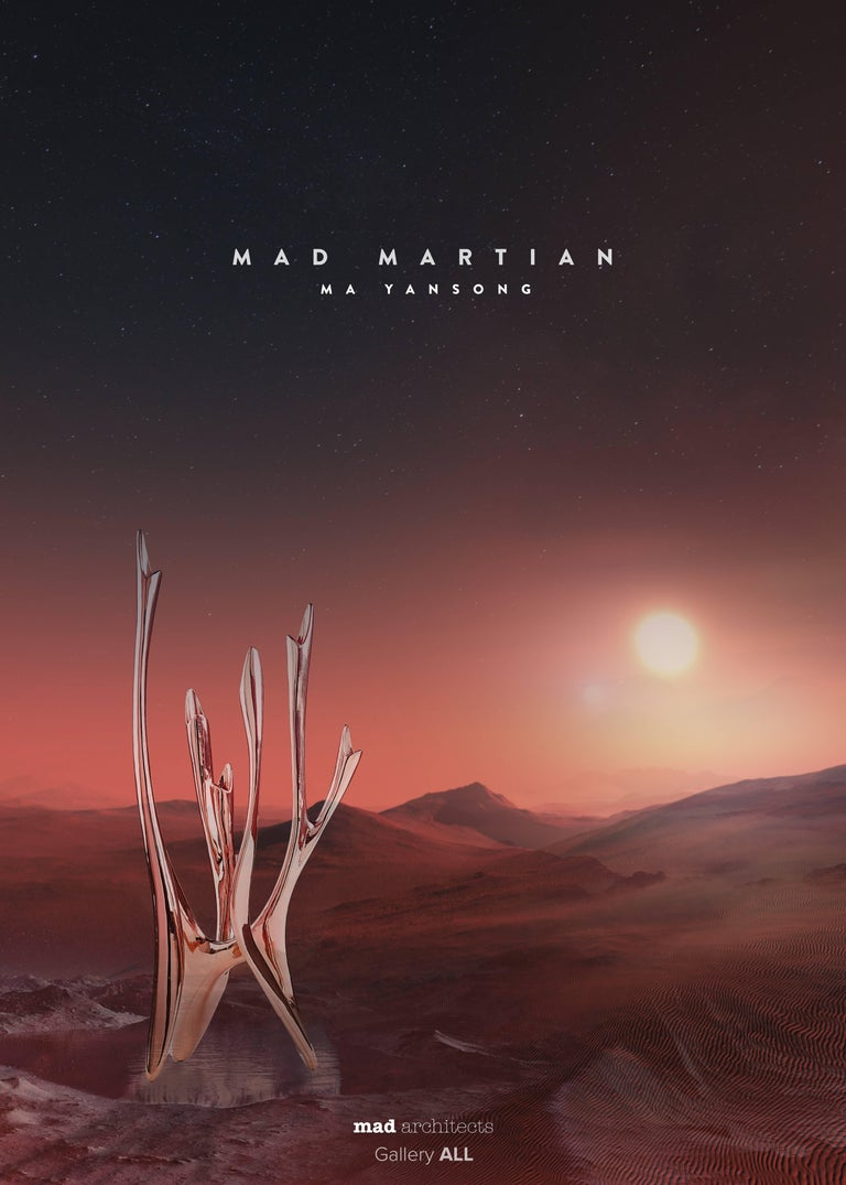 The MAD Martian collection began with a question: What would the Chinese colonization of a Martian planet look like? This naturally led to more questions such as at what point does survival stop and architecture begin? Once survival is assured, what