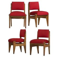 Rare Set of French Modernist Chairs