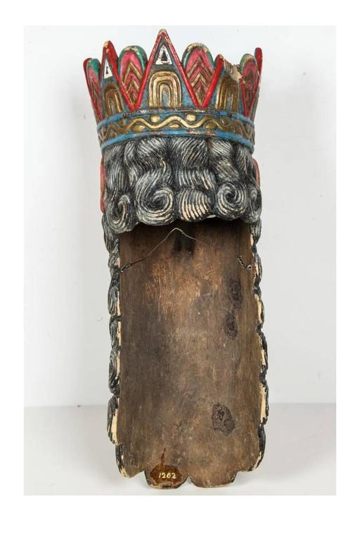 Mexican Folk Art Mask At 1stdibs