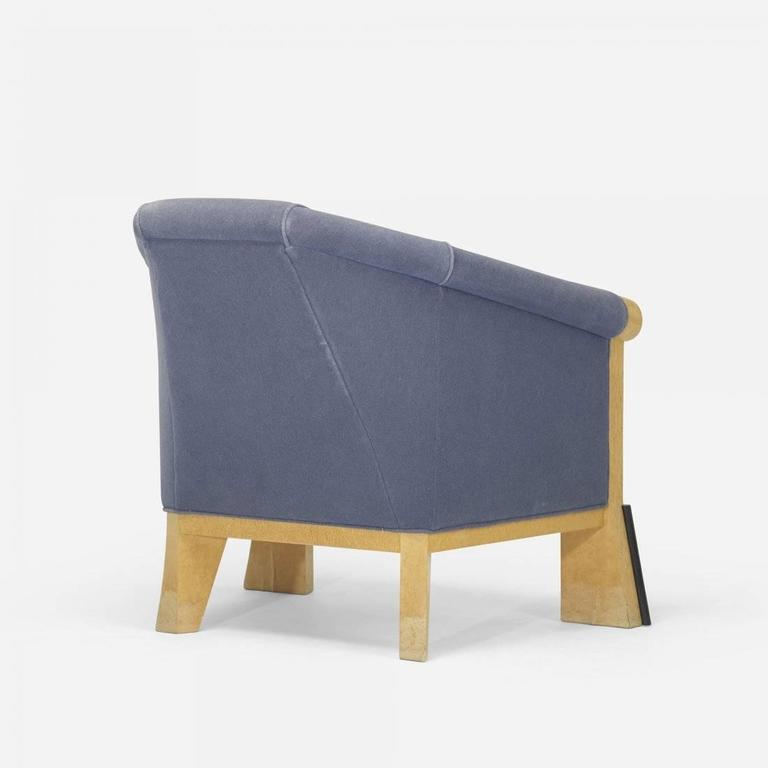 michael graves lounge chair 1980 at 1stdibs