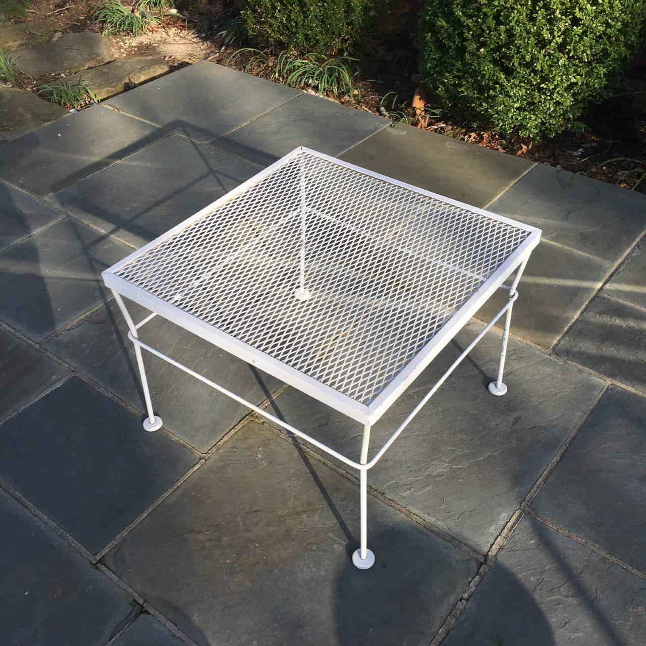 Mid 20th Century Outdoor Coffee Table At 1stdibs