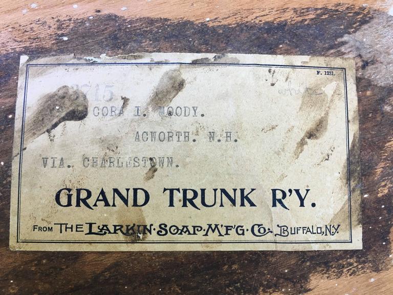 Thebes Stool By Larkin Soap Company Buffalo Ny 1880 At
