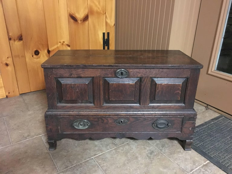 Early 19th Century Scottish Chest 2