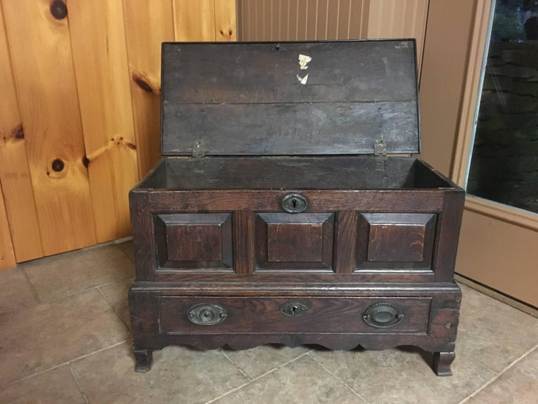 Early 19th Century Scottish Chest 7