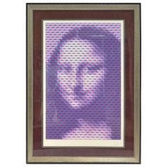 """Yvaral 'Jean-Pierre Vasarely' """"Mona Lisa"""""""
