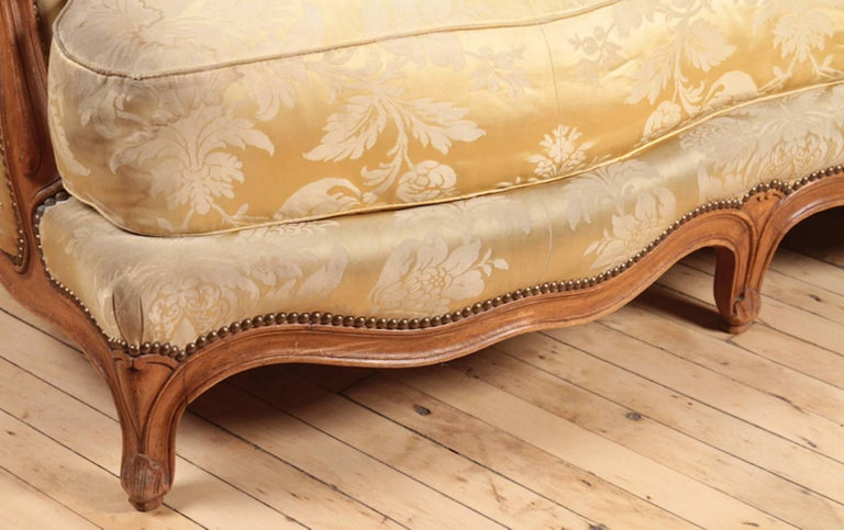 French Deep Lounging Sofa For